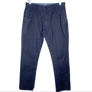 Men's Giorgio Armani Blue Pants Size 32 X 34